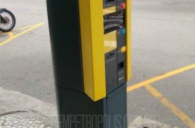 Parquímetros – Novo sistema de estacionamento em Petrópolis