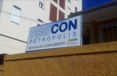 Endereço do PROCON em Petrópolis