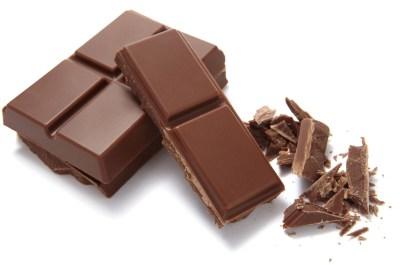 chocolate proibido menor de um ano