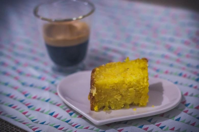 receita bolo de milho verde café