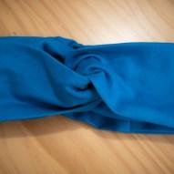Faixa de Cabelo Lisa Azul