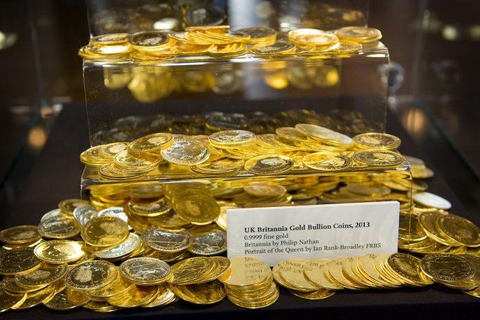 pièces d'or Britannia