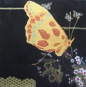 Sharon Segal Painting Butterfly