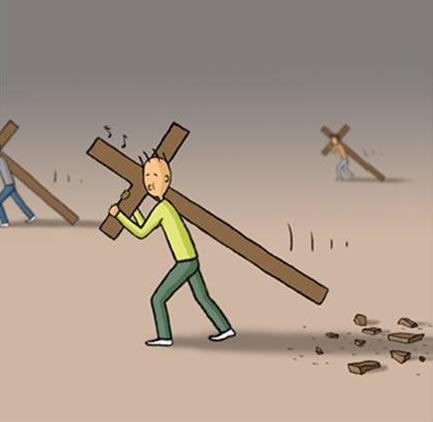 Carregue sua cruz por completo (5/6)