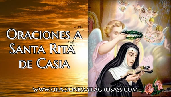 Rezos a Santa Rita