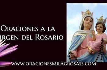 Milagros de la virgen del rosario
