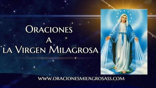 rezos a la virgen de los Milagros