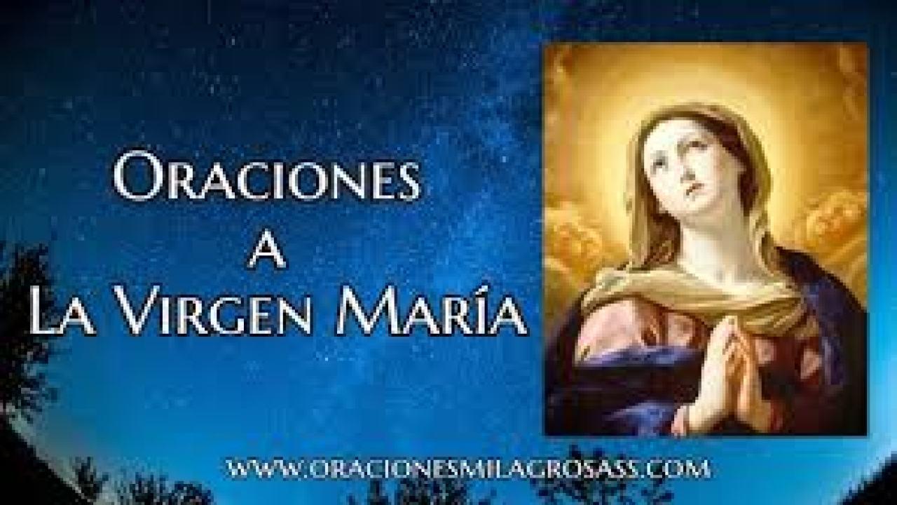 5 Oraciones A La Virgen María Amor Salud Y Más