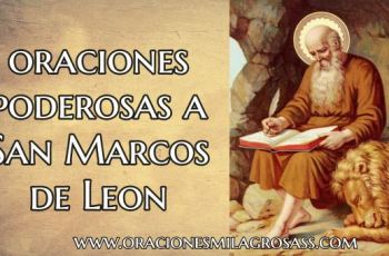 Rezos a San Marcos de Leon
