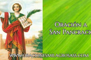 oracion a San Pancracio