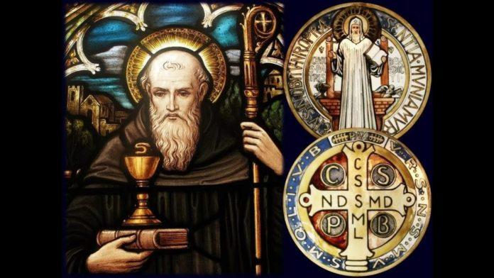 Oración a San Benito Nursia