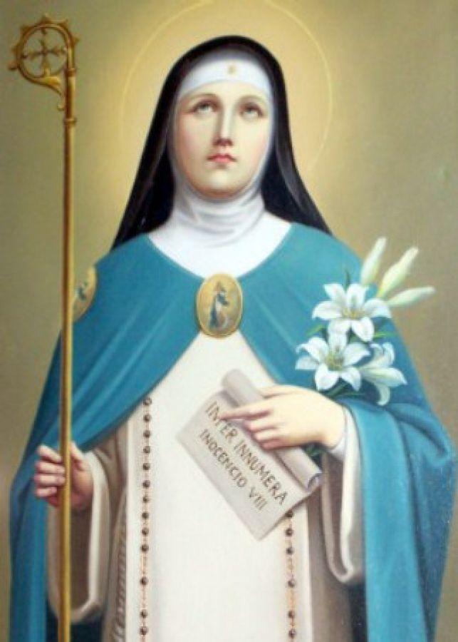 Santa Ángela de Foligno