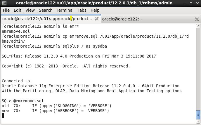 Upgrade Oracle 11gR2 (11 2 0 4) database to 12cR2 (12 2 0 1