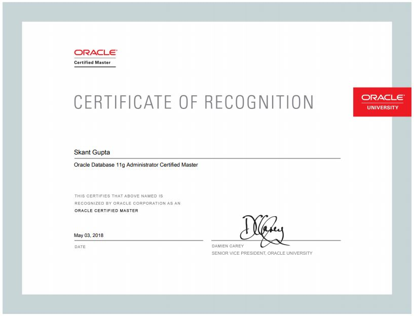 Tip and Tricks to pass OCM exam - ORACLE-HELP