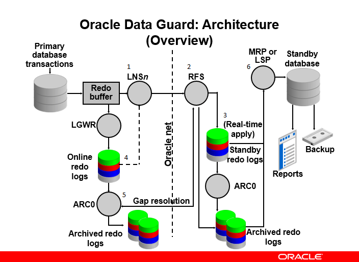 Oracle Dataguard Architecture - ORACLE-HELP