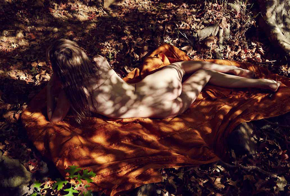 Ulrich knoblauch rush fashion magazine book maritz veer model nude forest oracle fox