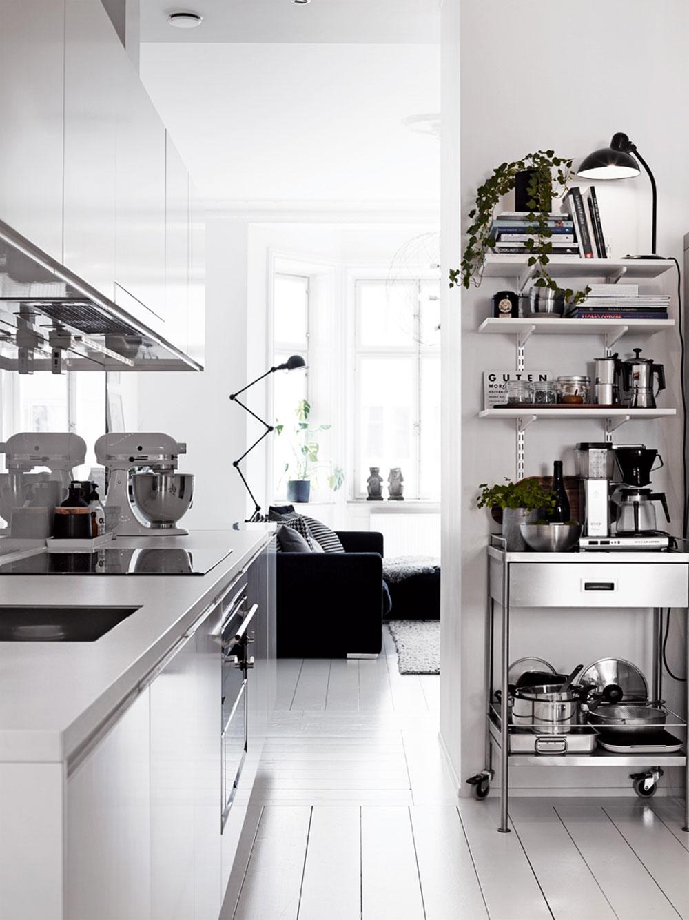 White, Home, Interior, Industrial, Minimal Inspiration, Kitchen, Oracle Fox