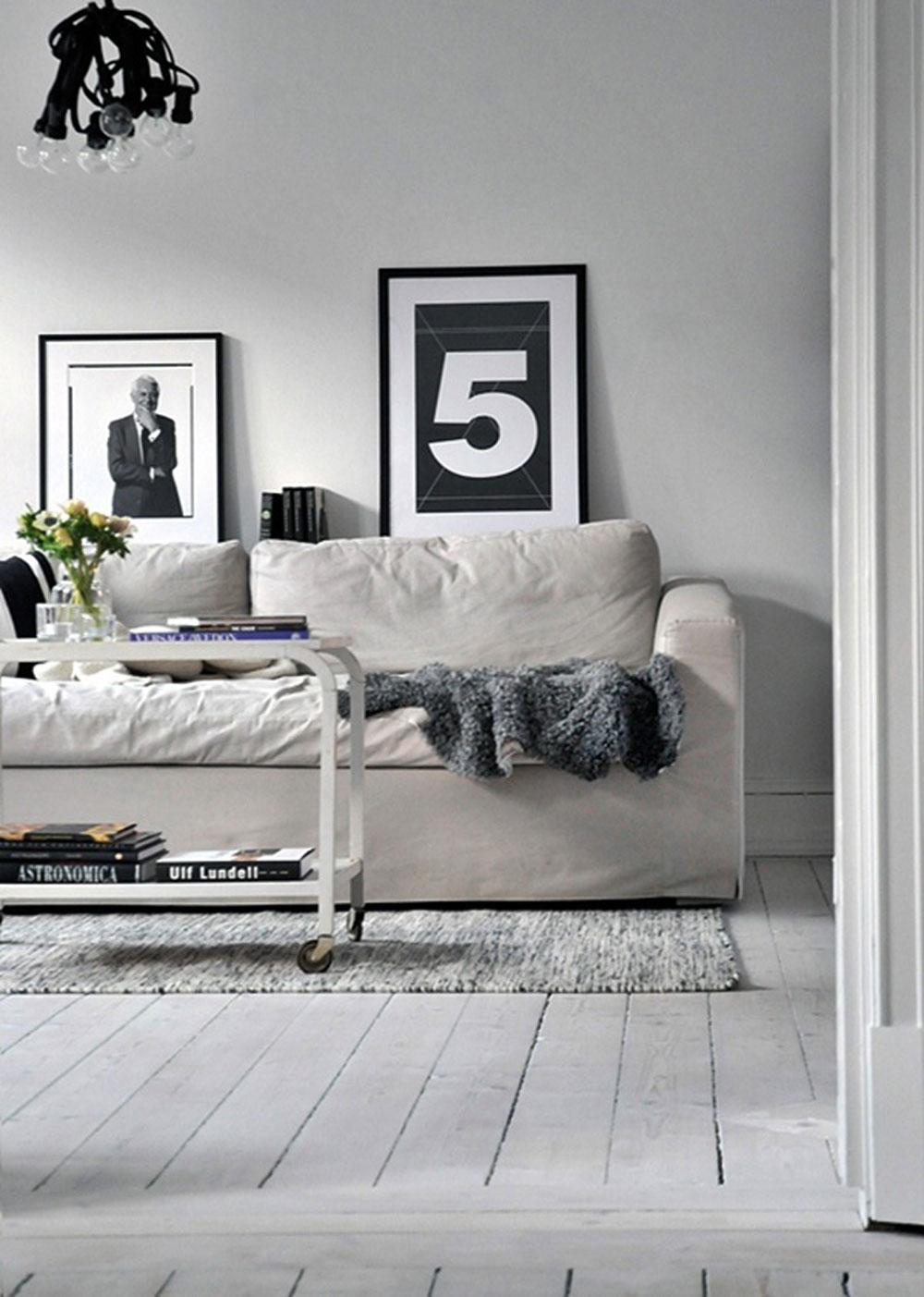 White, Home, Interior, Industrial, Minimal Inspiration, White Floorboards, Loungeroom,  Oracle Fox