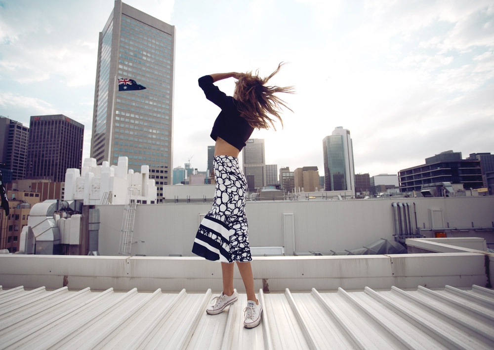 Rachel Finch, Myer Ambassador, Myer, Ellery top, ellery outfit, alex perry dress, lace dress, toni maticevski dress, myer campaign, oracle fox editorial,