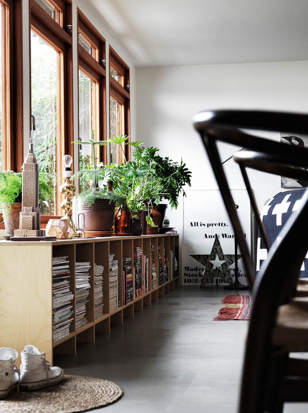 Oracle, Fox, Sunday, Sanctuary, Tina, Hellberg, Minimal, Scandinavian, Interiors,  Indoor, Plants, Bookshelf