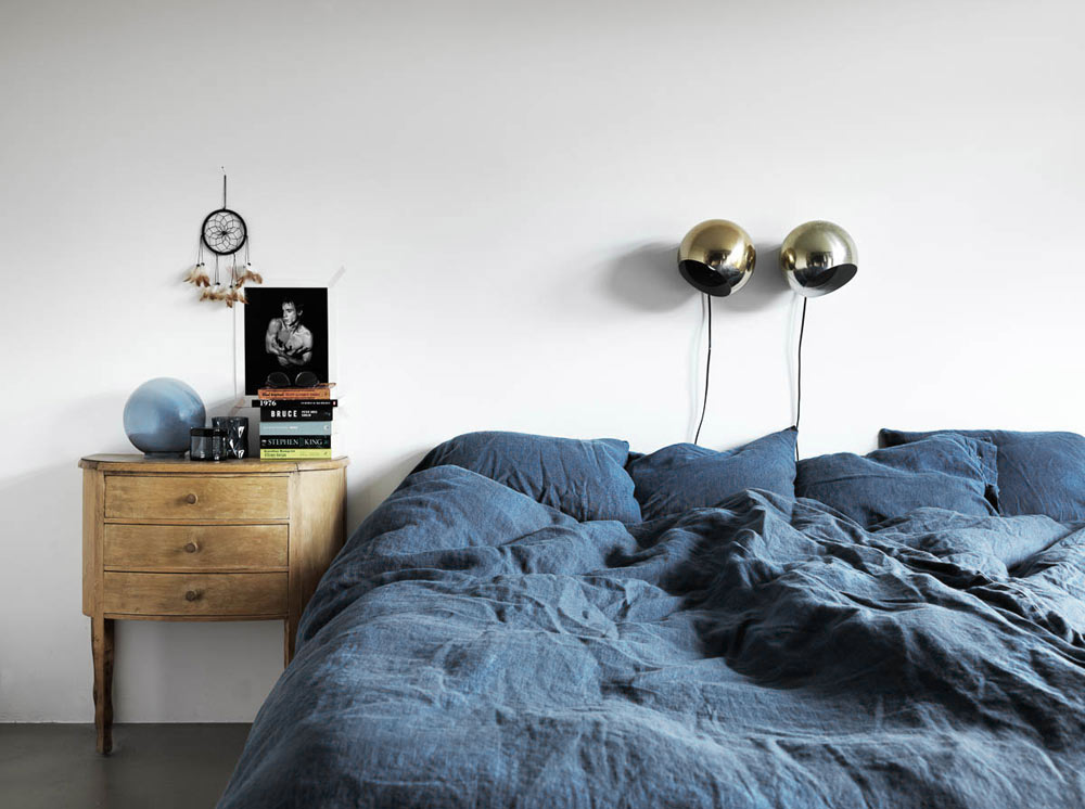 Oracle, Fox, Sunday, Sanctuary, Tina, Hellberg, Minimal, Scandinavian, Interiors,  Masculine, Bedroom