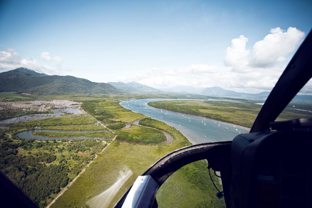 Silky, Oaks, Daintree, Pool, Travel, Oracle, Fox, Explore, Helicopter, View