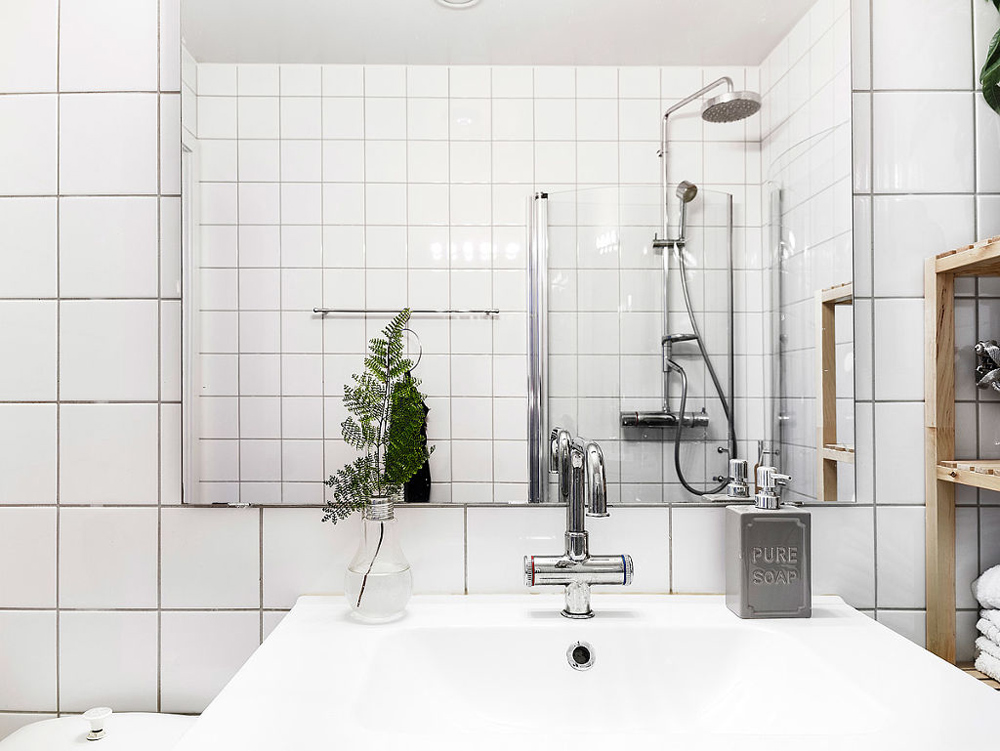 Oracle, Fox, Sunday, Sanctuary, At, Ease, Monochrome, Scandinavian, Interior, Bakers, Tile, Bathroom