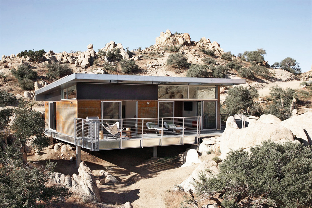 Oracle, Fox, Sunday, Sanctuary, The, Rock, Reach, House, Desert, Modernism, exterior