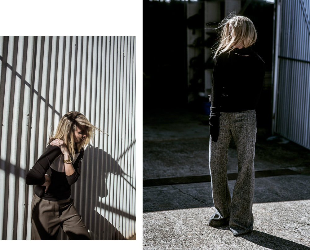 Avenue 32, winter outfit, winter layers, outfit inspiration, bella fraud, chalayan, phillip lim, carven, carven coat, carven jacket, trousers