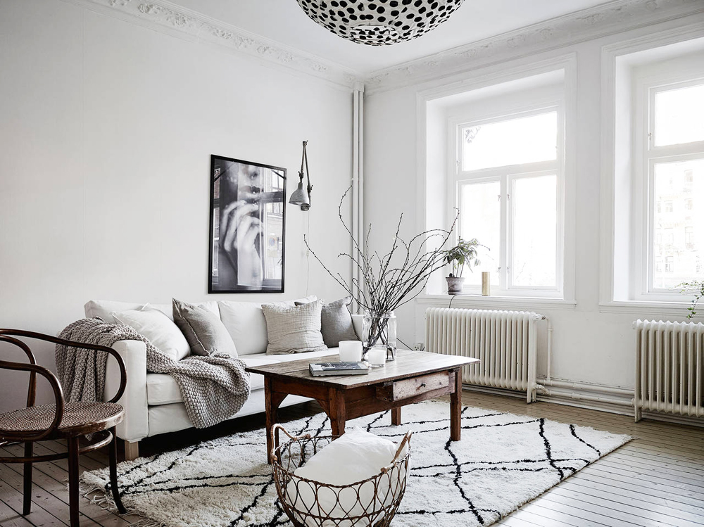 Oracle, Fox, Sunday, Sanctuary, Detail, Oriented, Black, and, white, Scandinavian, Interior, Lounge room, black and white