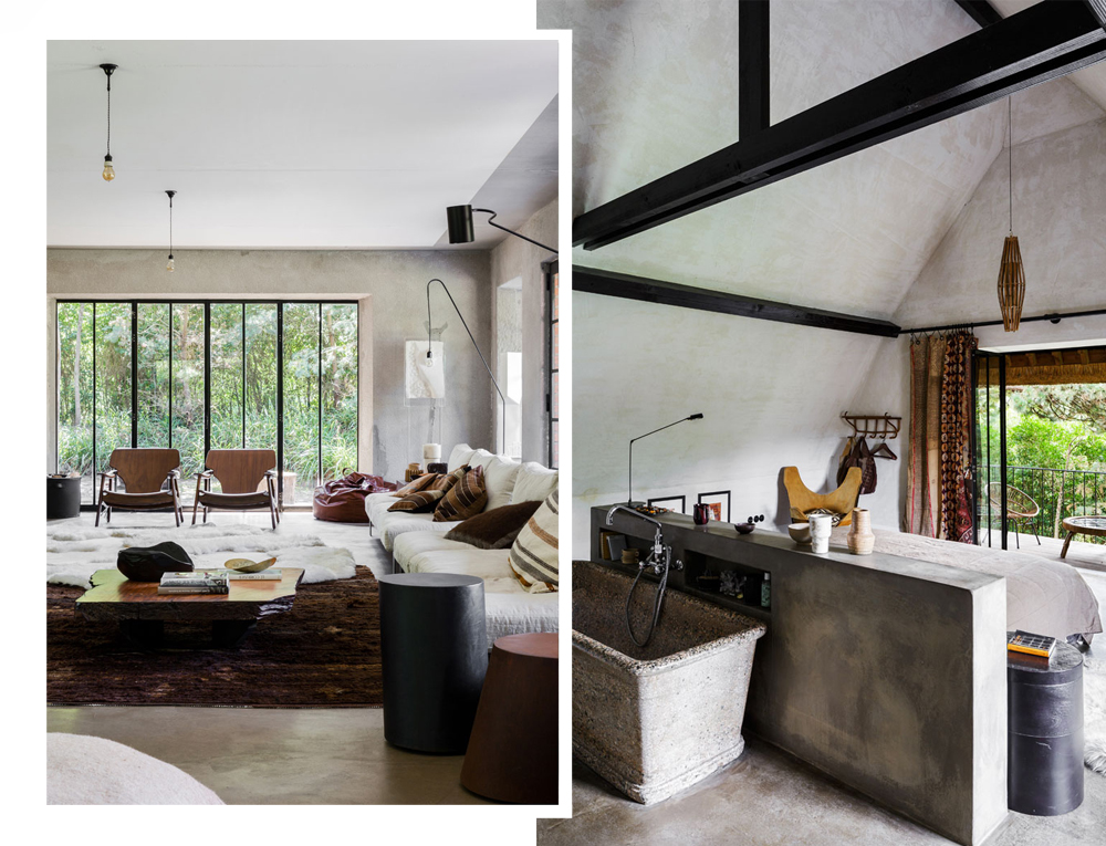 Oracle, Fox, Sunday, Sanctuary, Extracurricular, Bea, Members, Hotel, Belgium, Industrial, Style, Interior, Designer, White, Concrete, Living Room,