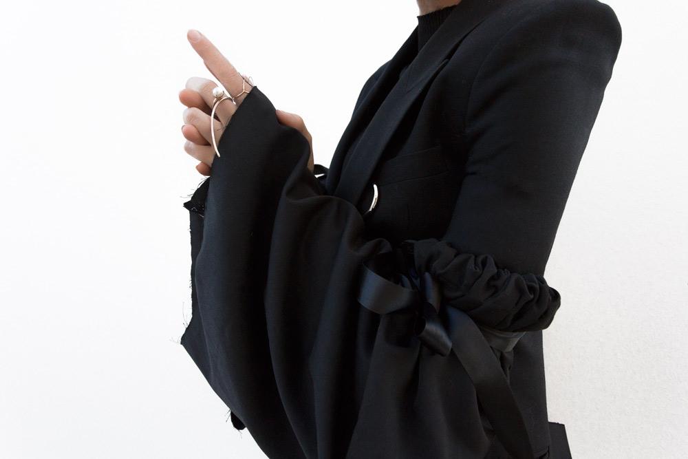 Ellery Blazer, Ellery Sleeve Blazer, Givenchy Clutch, Ryan Storer, Ryan Storer Ring, Amanda Shadforth, Outfit, Oracle Fox