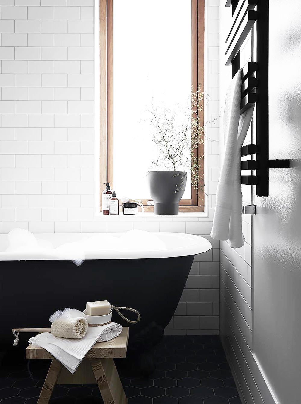 Alexandra Ogonowski, interiors, home, home inspiration, sunday sanctuary, oracle fox, scandinavian house, bathroom