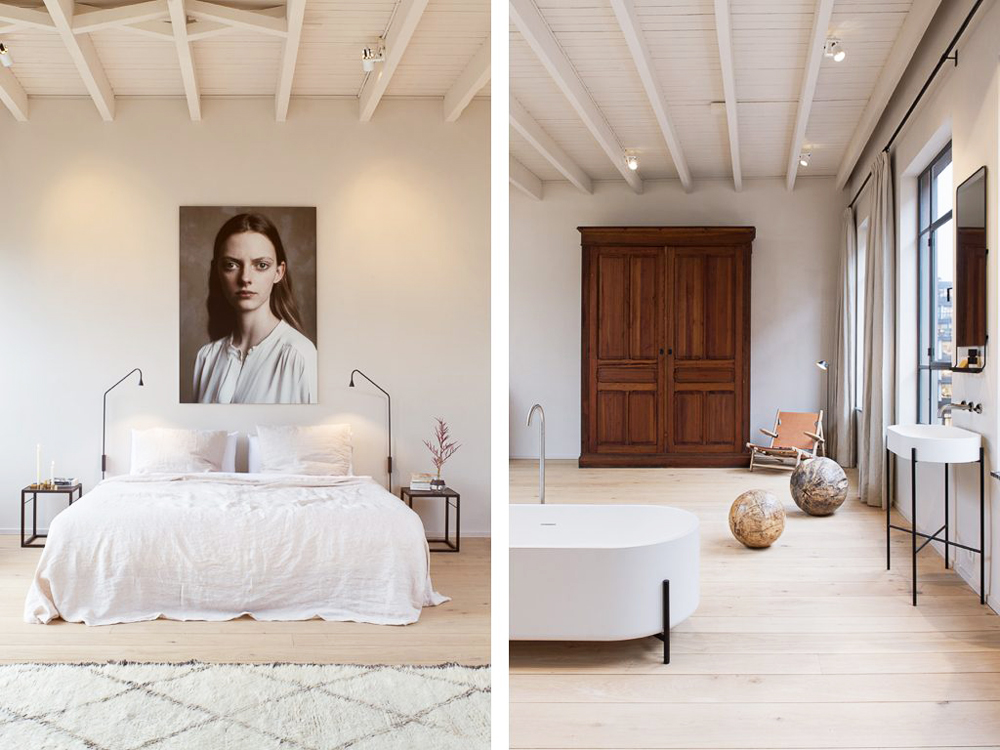 bedroom, enter the loft, loft, interiors, interiors tour, apartment, miss bare, industrial, sunday sanctuary, home, inspiration