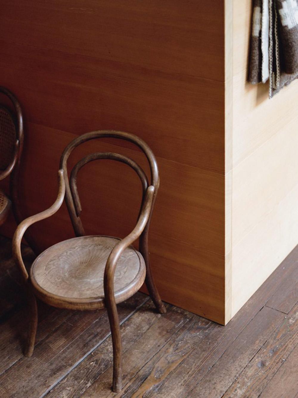 Donald Judd, Judd Foundation, interiors, sunday sanctuary, oracle fox, chair