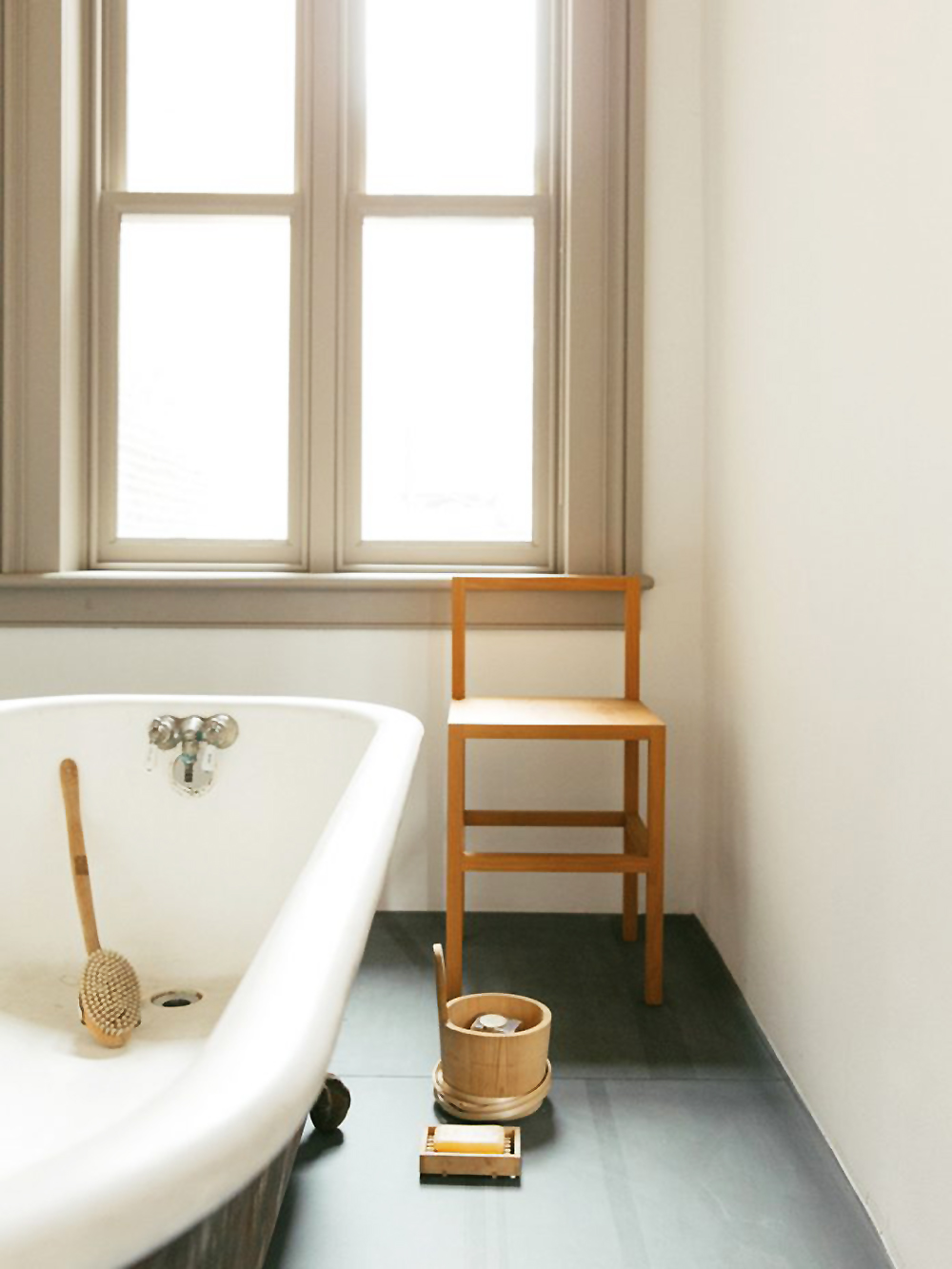 Donald Judd, Judd Foundation, interiors, sunday sanctuary, oracle fox, bath, bathroom