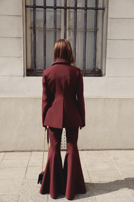 Ellery-Maroon-Suit-Prada-Lizard-Bag-Amanda-Shadforth.2