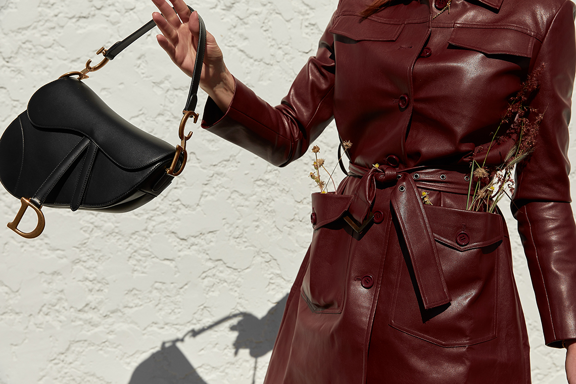 Dior, Saddle, Bag, Black, Editors, Outfit, Oracle, Fox, Amanda, Shadforth