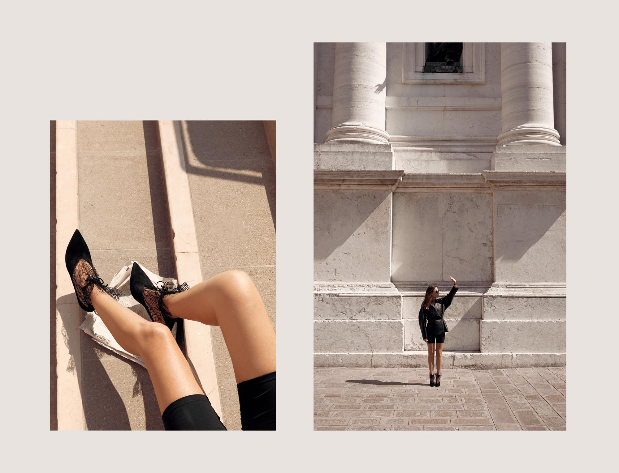 Leather Jacket, Bike Pants, Jimmy Choo Heels, Shoes, Venice, Travel, Photo Diary