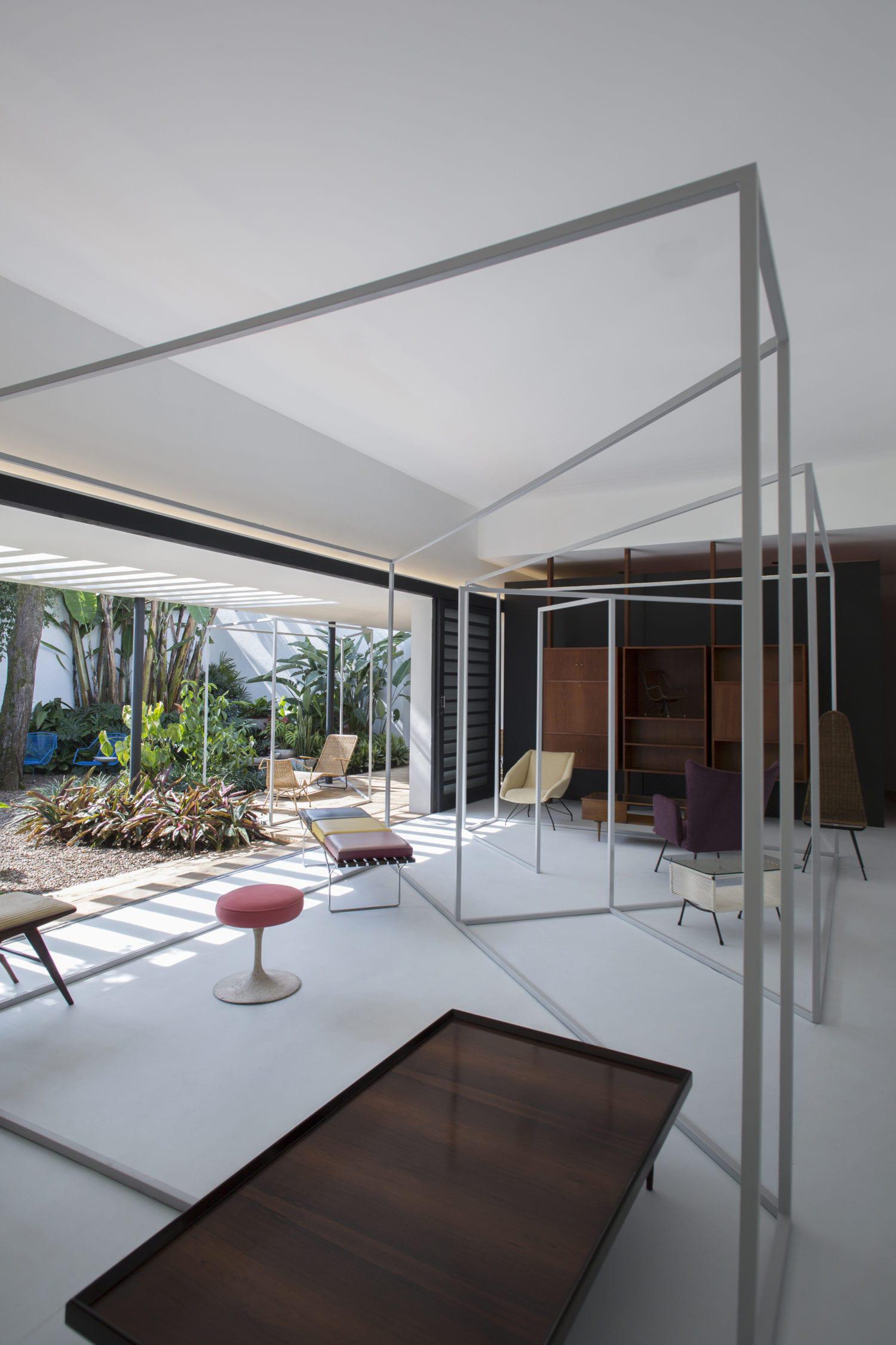 Sunday, Sanctuary, Apartment, Sao, Paulo, Brazil, Interiors, Minimal, Furniture