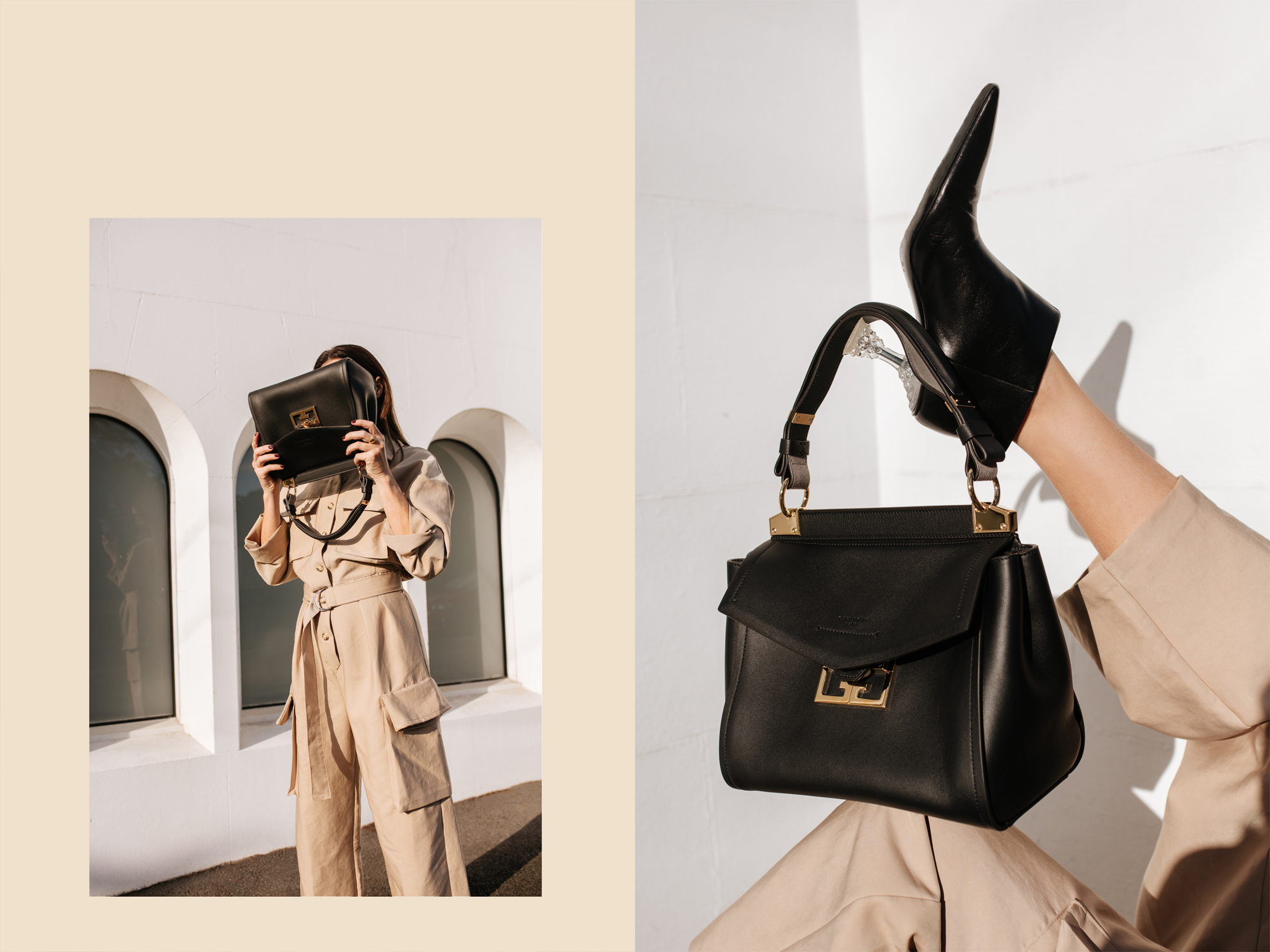 Givenchy, Mystic Bag, Frankie Shop, Jumpsuit, Celine Shoes, Outfit, Amanda Shadforth