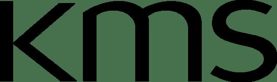 KMS black logo