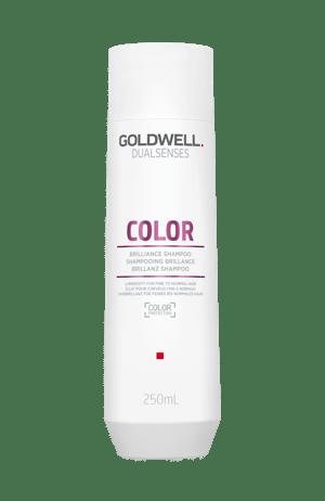Bottle of shampoo for coloured hair