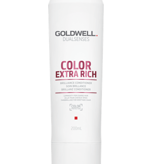 Bottle of conditioner for coloured hair