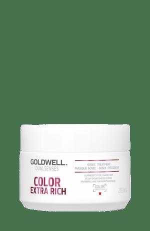 Tub of hair treatment for coloured hair