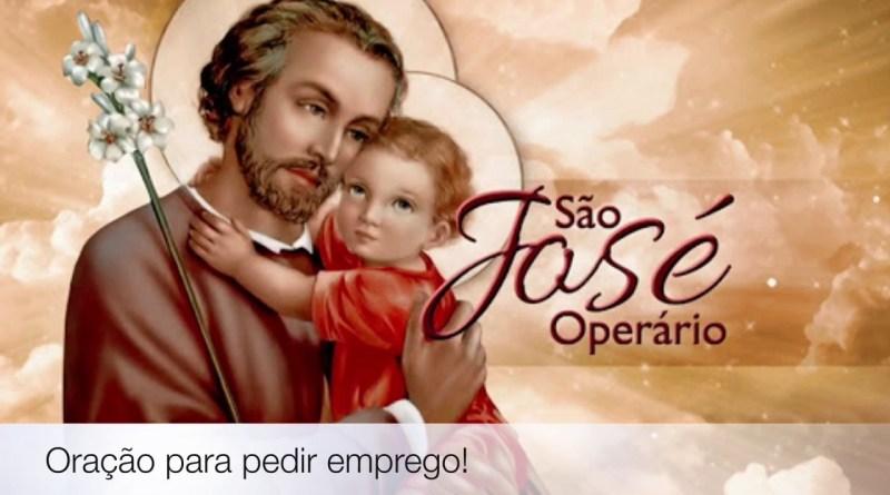 sao jose emprego - Oração de São José Para Arrumar um Emprego