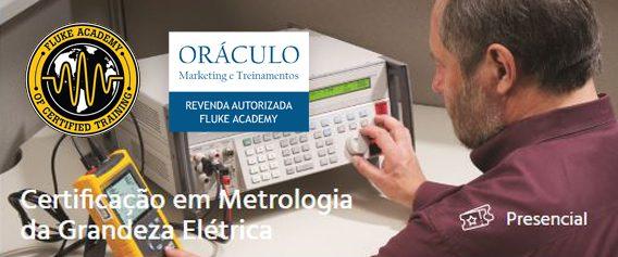 CERTIFICAÇÃO EM METROLOGIA DA GRANDEZA ELÉTRICA.