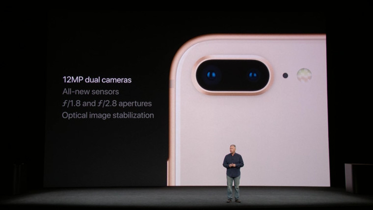 dual-camera iPhone 8 Plus