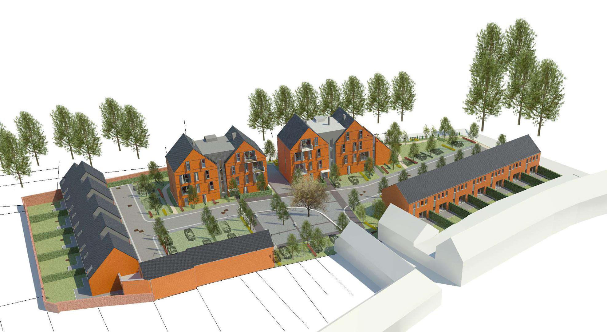 Habitat groupé à Leuze-en-Hainaut