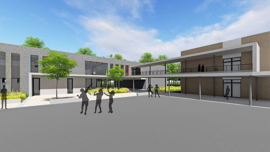 Ecole à Saint-Ghislain